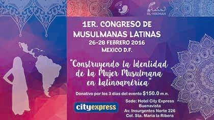 Congreso Musulmanas Latinas 2016